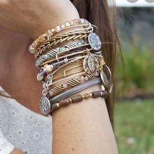 Alex and Ani Gypsy 66 Wrap Bracelet